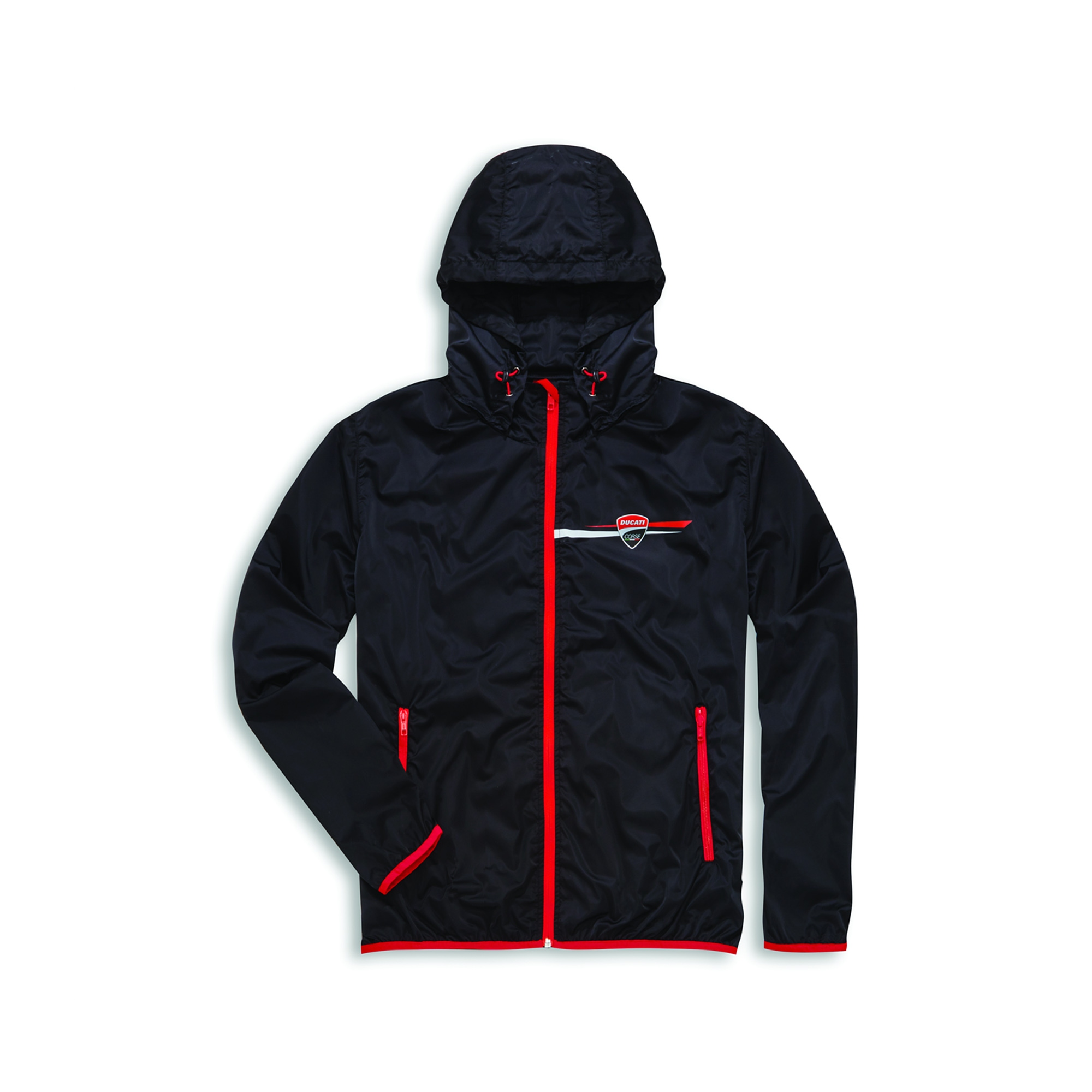 68396902dbc4 Rain Jacket Ducati Corse Stripe
