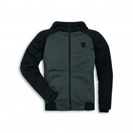Technical sweatshirt Downtown C1 S Man Grey