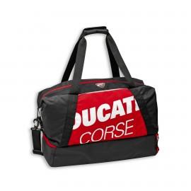Gym Bag Ducati Corse Freetime 60x30x25 cm  red-white-black