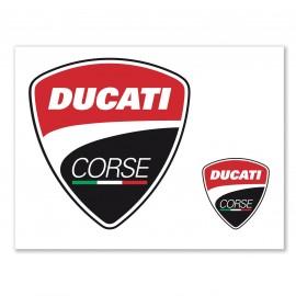 Sticker Ducati Corse Logos