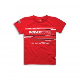 T-shirt Ducati Corse Sport 2-4 a/y  Red