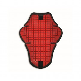 Back Protector for prepared leather jacket Warrior 2 Red Man