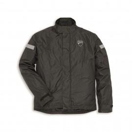 Rain Jacket Strada 2 Black Man XS