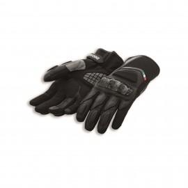 Leather-fabric gloves Sport C3 Black 0 M 8