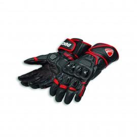 Leather gloves Speed Evo C1 Black-Red 0 S 7.5-8