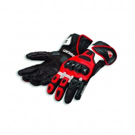 Leather gloves Speed Air C1 Red-White-Black 0 S 7.5-8