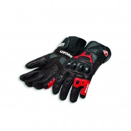Leather gloves Speed Air C1 Black-Red 0 L 8 .5-9