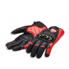 Fabric-leather gloves  Company C1