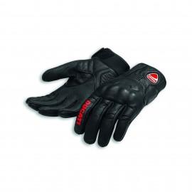 Leather gloves Logo C1