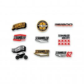 Autocollants Lifestyle Logo