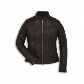 Leather jacket Vintage Woman XS