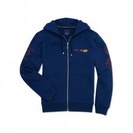 Hooded sweatshirt Utah Hooded Blue Man XXL
