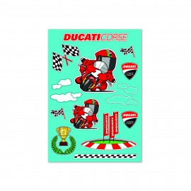 Decorative stickers Cartoon Ducati