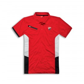 Short-sleeved polo shirt Ducati Corse DC Power XS  Red
