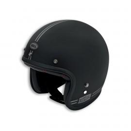 Open face helmet Scrambler Black Swag