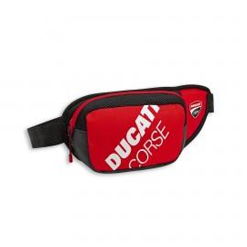 Waist bag Ducati Corse Freetime 30x15x12 cm  red-white-black