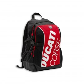 Backpack Ducati Corse Freetime 45x30x20 cm  red-white-black