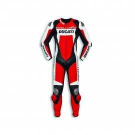Racing suit Ducati Corse C4 52 Man Red Perforated