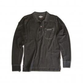 Long sleeved polo shirt Metropolitan AW13 Ducati