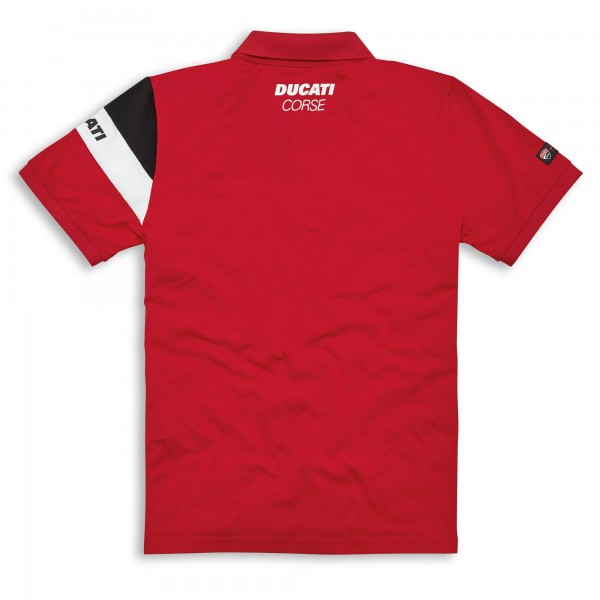 Short sleeved polo shirt DC Track