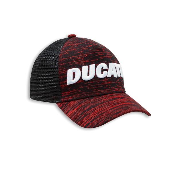 Cap Ducati Scarlett Trucker one size fits all  dark red