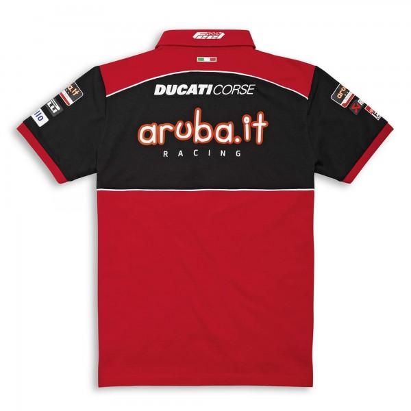 Short-sleeved polo shirt-SBK Team Replica 21 Men