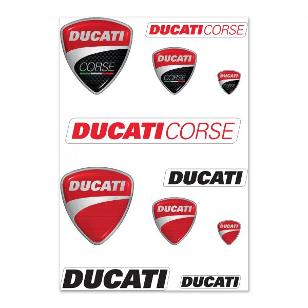 Sticker Ducati mix