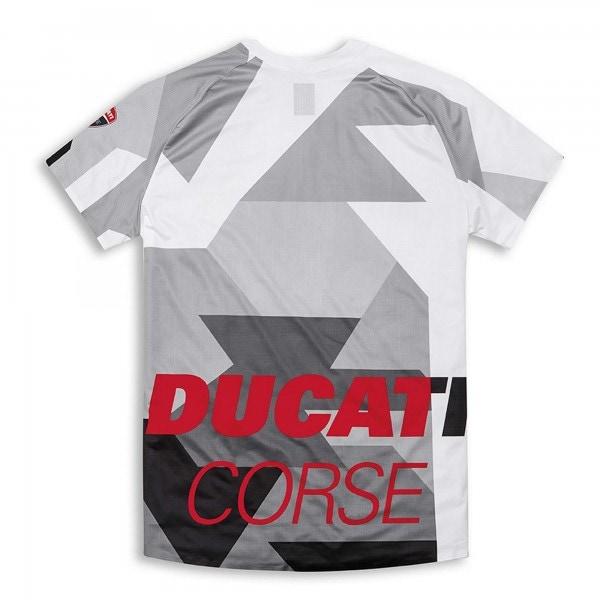 Short-sleeve technical T-shirt-Ducati corse MTB Men