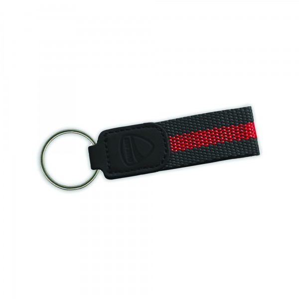 Key-ring New City  Unisex Black-Red