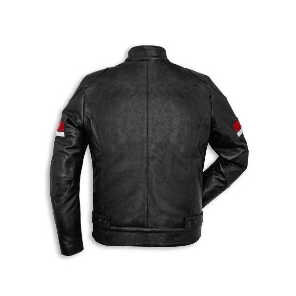 Leather jacket Ducati Urban Stripes