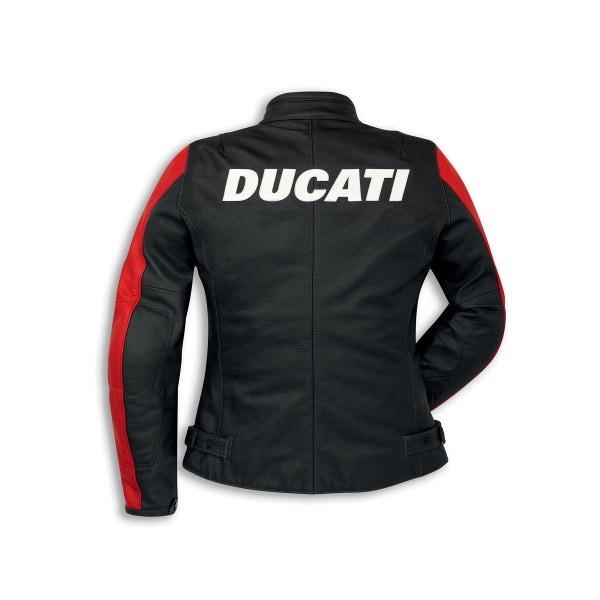 Leather jacket Ducati Company C3 Woman