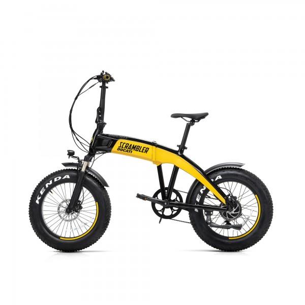 Bicicleta eléctrica plegable fat SCR-E
