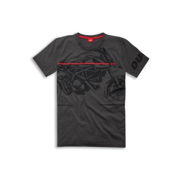 ショートスリーブ Tシャツ  Red Line