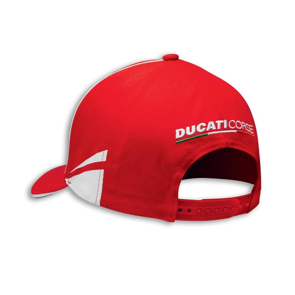 Cap Ducati Corse D04 one size fits all Red