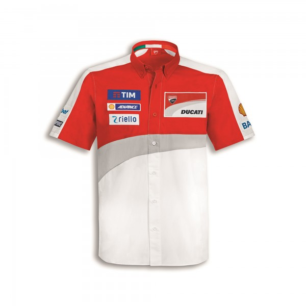 Short-sleeved shirt GP Team Replica 16 Ducati