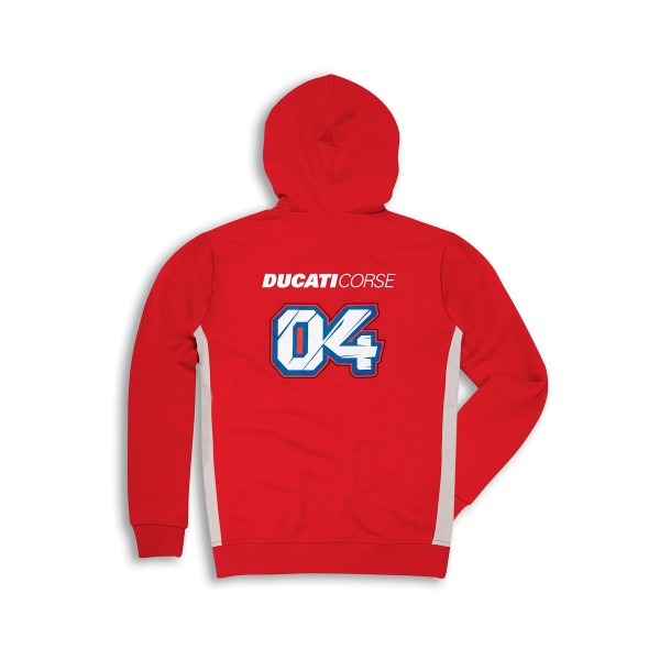 Sweatshirt mit Kapuze Ducati Corse D04