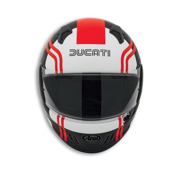 Full-face helmet Historical Ducati 77