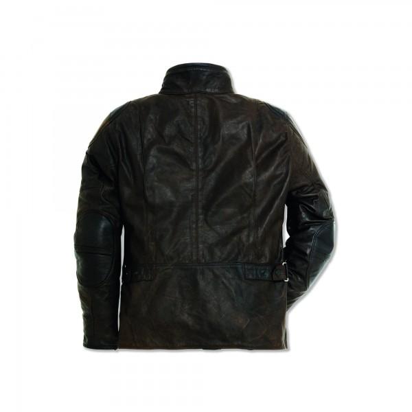 Leather jacket Quattrotasche