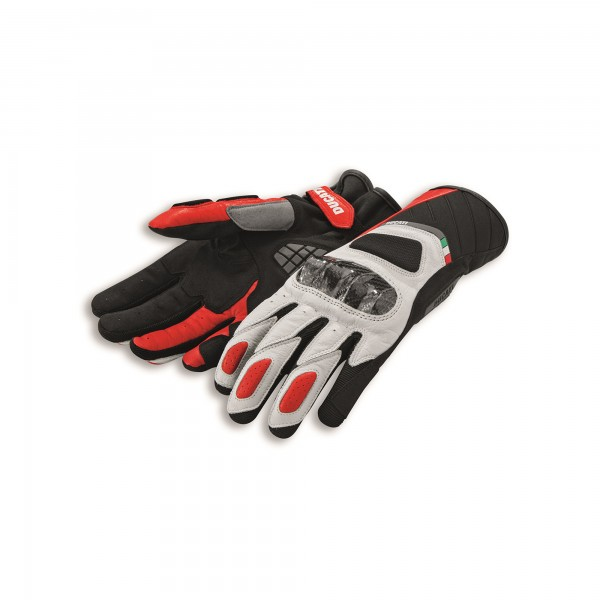 Leather-fabric gloves Sport C3