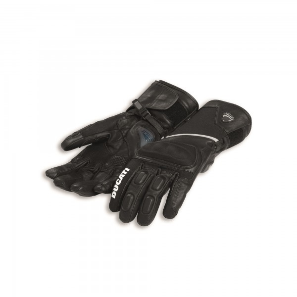 Fabric-leather gloves  Tour C3
