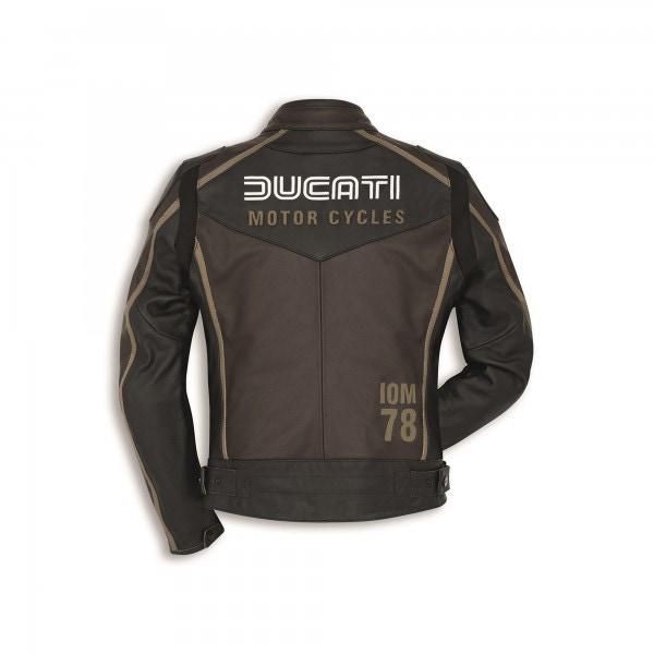 Leather jacket IOM C1 Woman