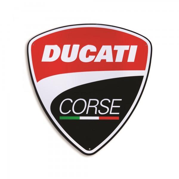 Insegna in metallo Ducati Corse