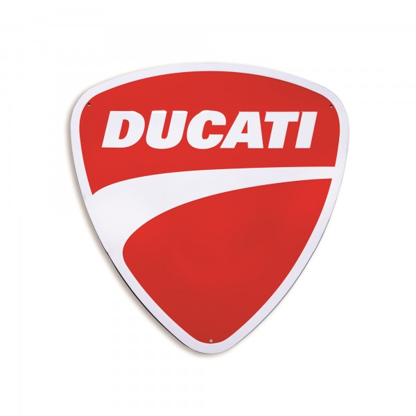 Metal insignia Ducati