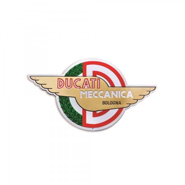 Metal insignia Meccanica