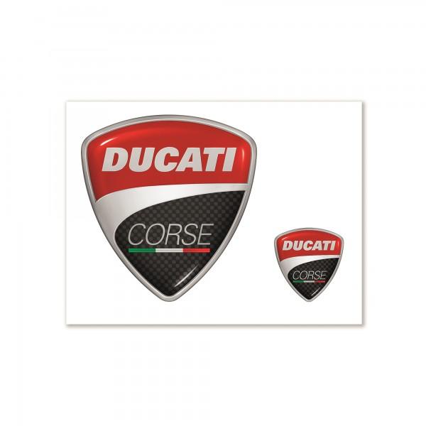 Aufkleber Ducati Corse