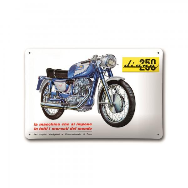 Metal plate Diana 250