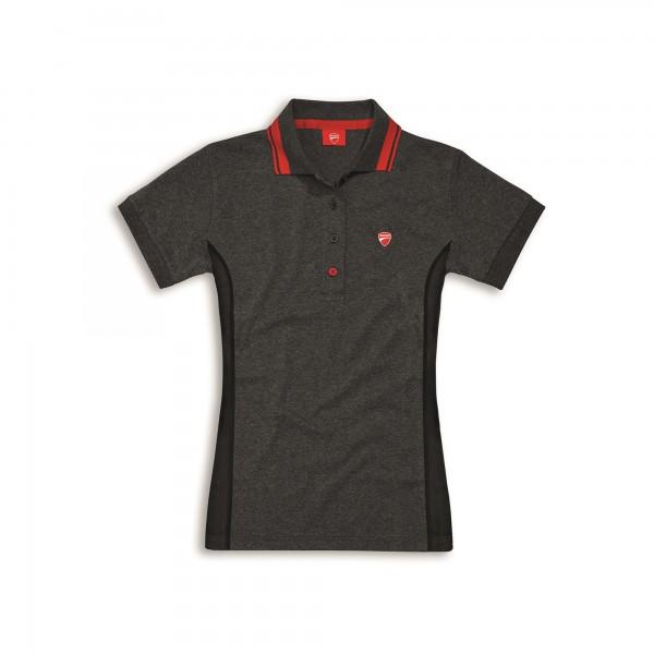 Short-sleeved polo shirt D-Attitude Woman