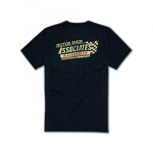 T-Shirt Motor Shop Mann