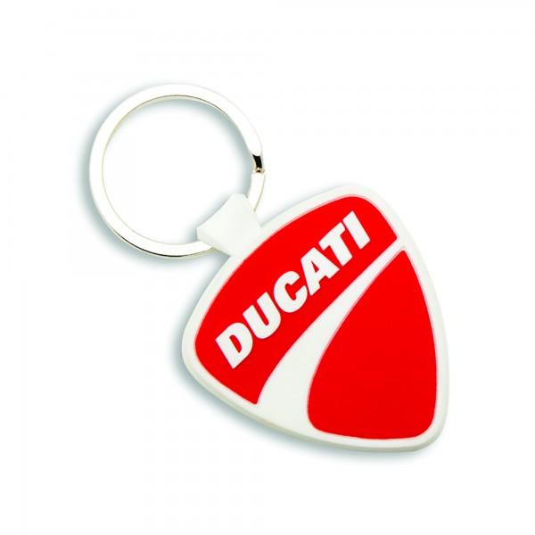 Portachiavi in gomma Ducati Shield