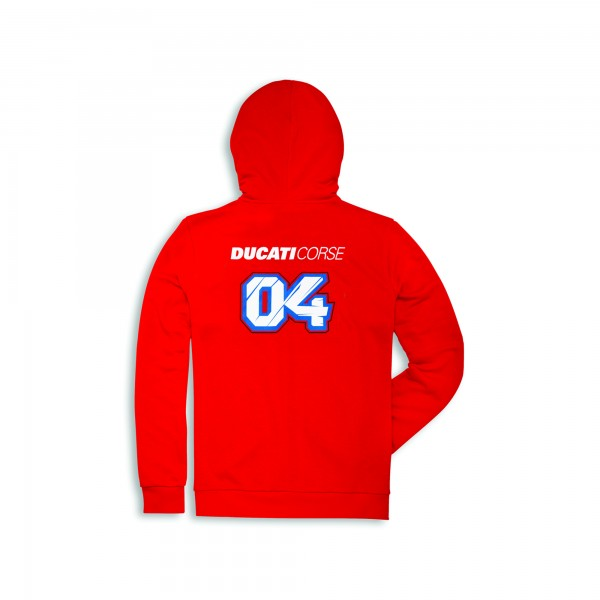 Sweatshirt mit Kapuze D04 Mann